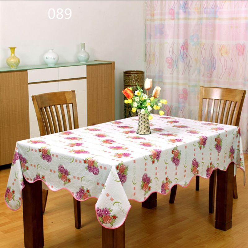 Free Shipping Pvc Nappe Table Cloth Plastic Waterproof Oilproof
