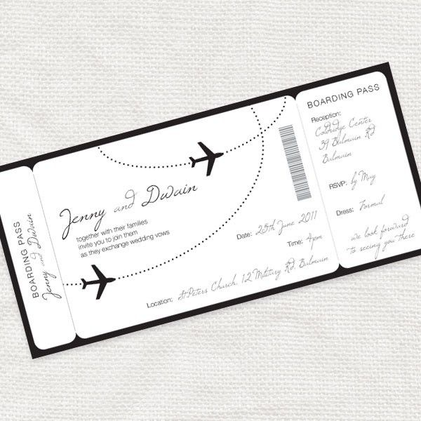 boarding pass airplanes Cosassimpaticas Pinterest Boarding
