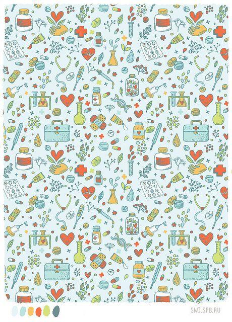 Medicine, Patterns And Wallpaper