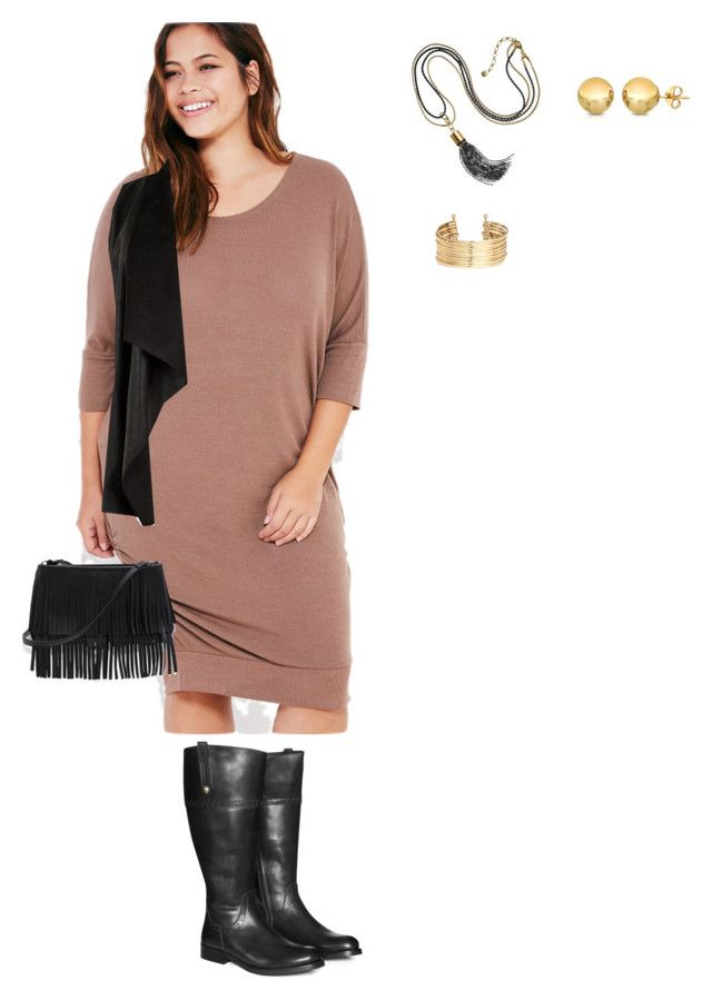 plus size casual look | My Polyvore Finds | Plus size casual, Casual ...