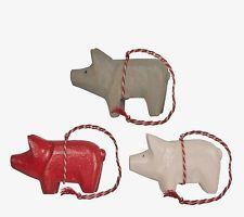Maileg Schweinchen Holz Schwein Weihnachtsdeko Christbaumschmuck