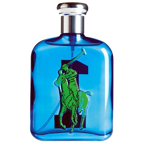 Send your guy a message in a bottle of cologne that can be monogrammed.