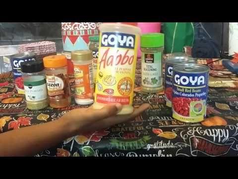 My Goya Beans & Sauce....Stephanie Johnson
