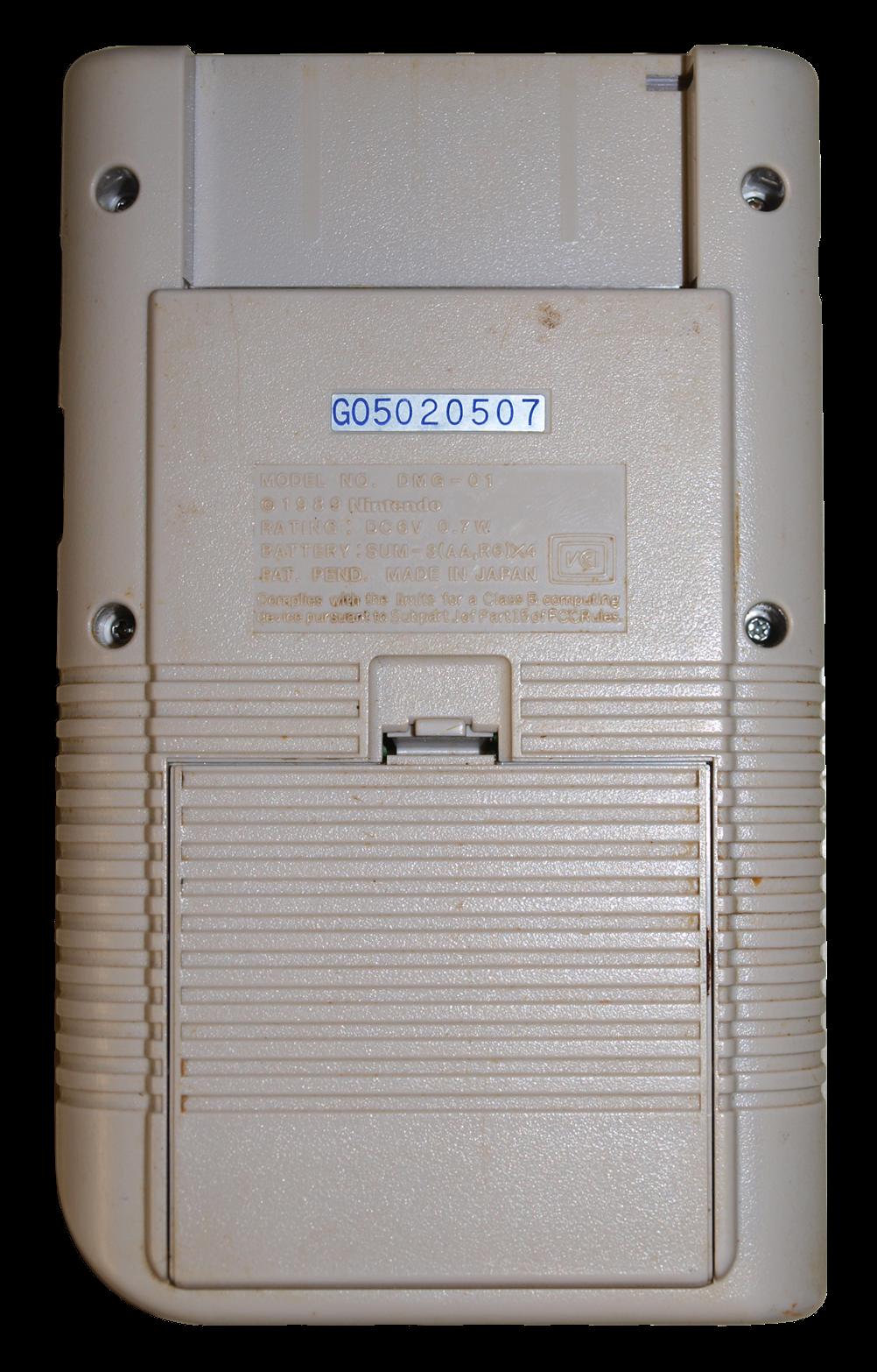 Gameboyoriginalback.png (1002×1566) Gameboy, Gaming
