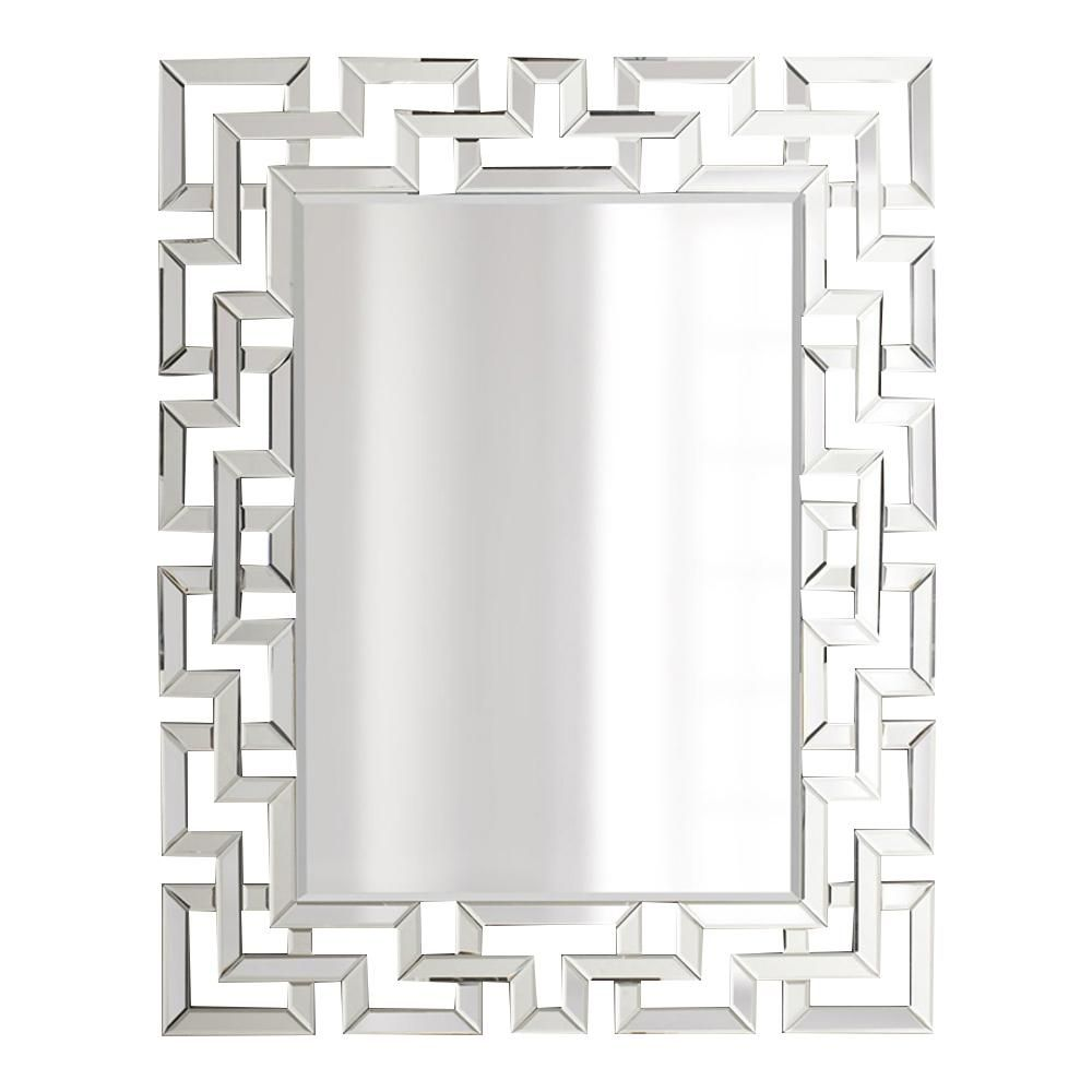 Afina Modern Luxe 32 In X 42 In Framed Rectangular Contemporary