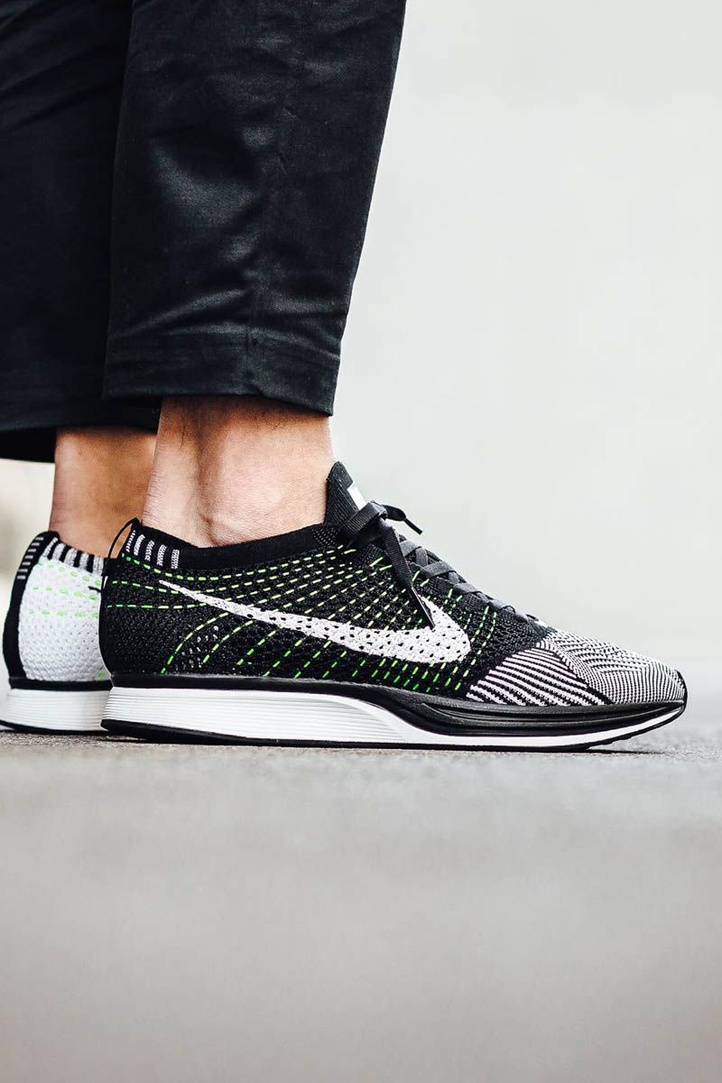 new concept d7a9f 49c3b At a mere 6 oz, the Nike Flyknit Racer weighs less than a pair of wool socks