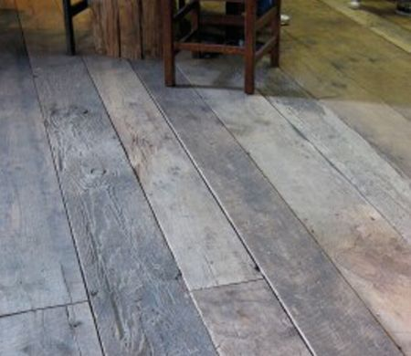 Rustic Wide Plank Wood Flooring Antique Barn Threshing
