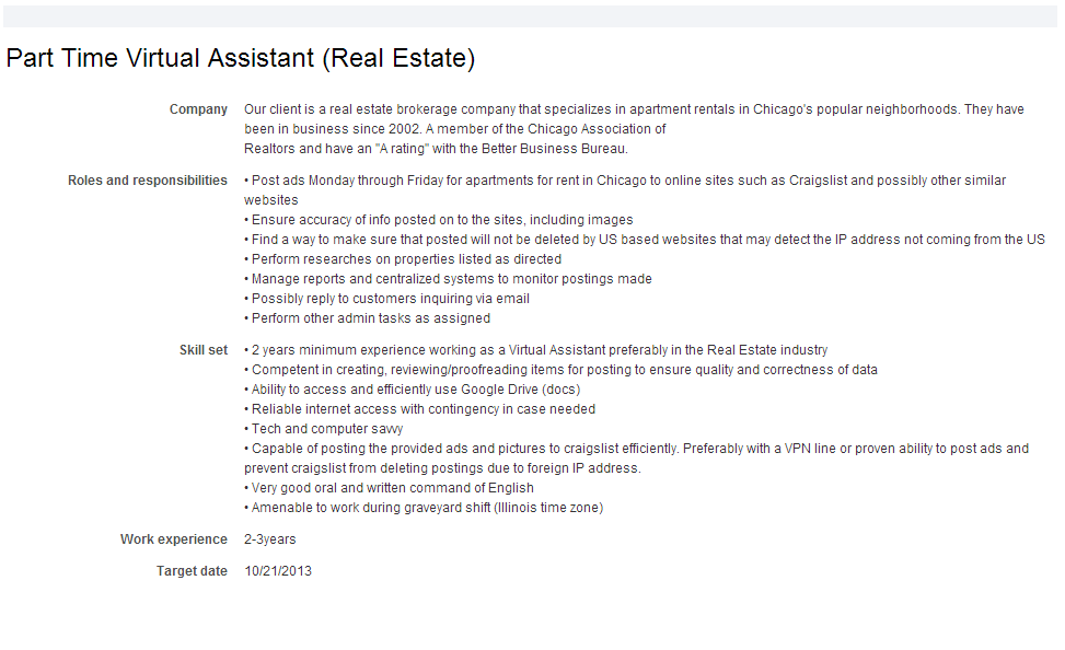 virtual coworker homebased job opportunities virtual assistant real estate