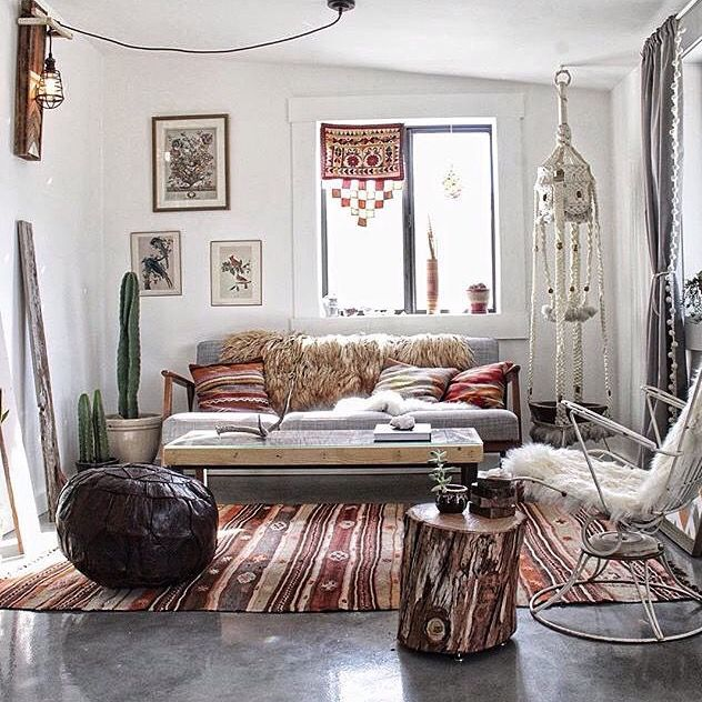 Bohemian Life » Boho Home Design + Decor » Nontraditional Living » Elements  Of Bohemia