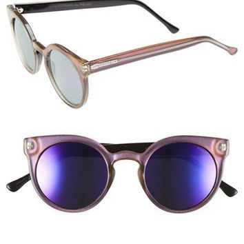 Komono 'Lulu' Round Lens Sunglasses | Nordstrom