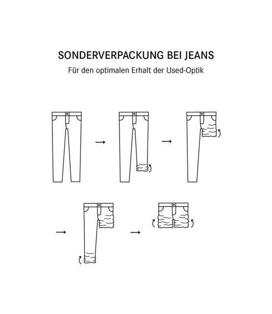 Slim-fit-Jeans »RO:BI« mit Kontrast-Steppungen #jeansandboots