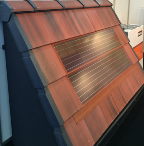 The Intecto Integrated Solar Pv Tile From Romag Is