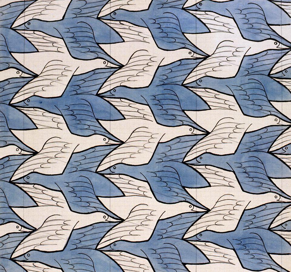 Two Birds by M.C. Escher | Escher | Pinterest