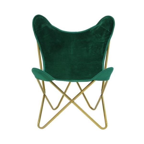 Pleasant Velvet Navy Gold Butterfly Chair Alexa Nice Alexa Nice Theyellowbook Wood Chair Design Ideas Theyellowbookinfo