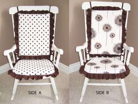 Custom Rocking Chair Cushion YouTube 1000+ images about Rocking chairs ...