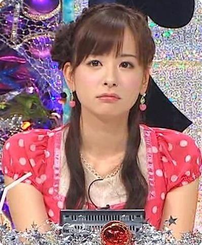 困り顔の皆藤愛子