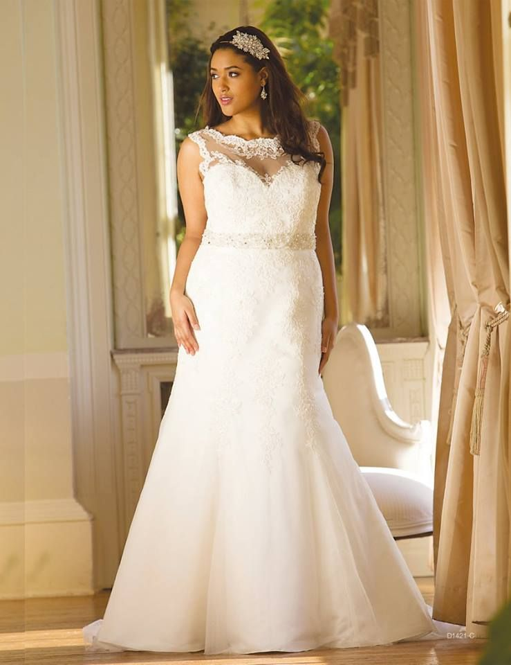 6d568517f86 64 Super Gorgeous Plus-Size Wedding Dresses To Flatter You Best On ...