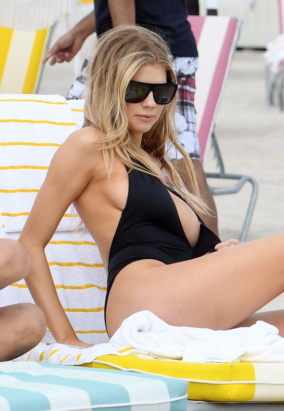 Charlotte mckinney nipple slip