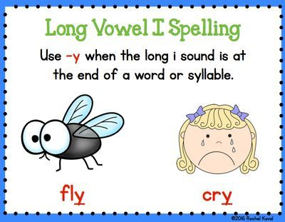 Short and Long Vowel i from Rochel Koval on TeachersNotebook.com (30 pages) This product contains three ways to explore short and long vowel i. The first game focuses on distinguishing between the long and short vowel i sounds. The second game explores the -y, -igh, and -ie spellings of long i and when to use each spelling, and the last game focuses on the magic 'e' spelling for long i.