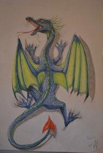 Dragon🐲 | Draken tekeningen, Tekenen, Drake