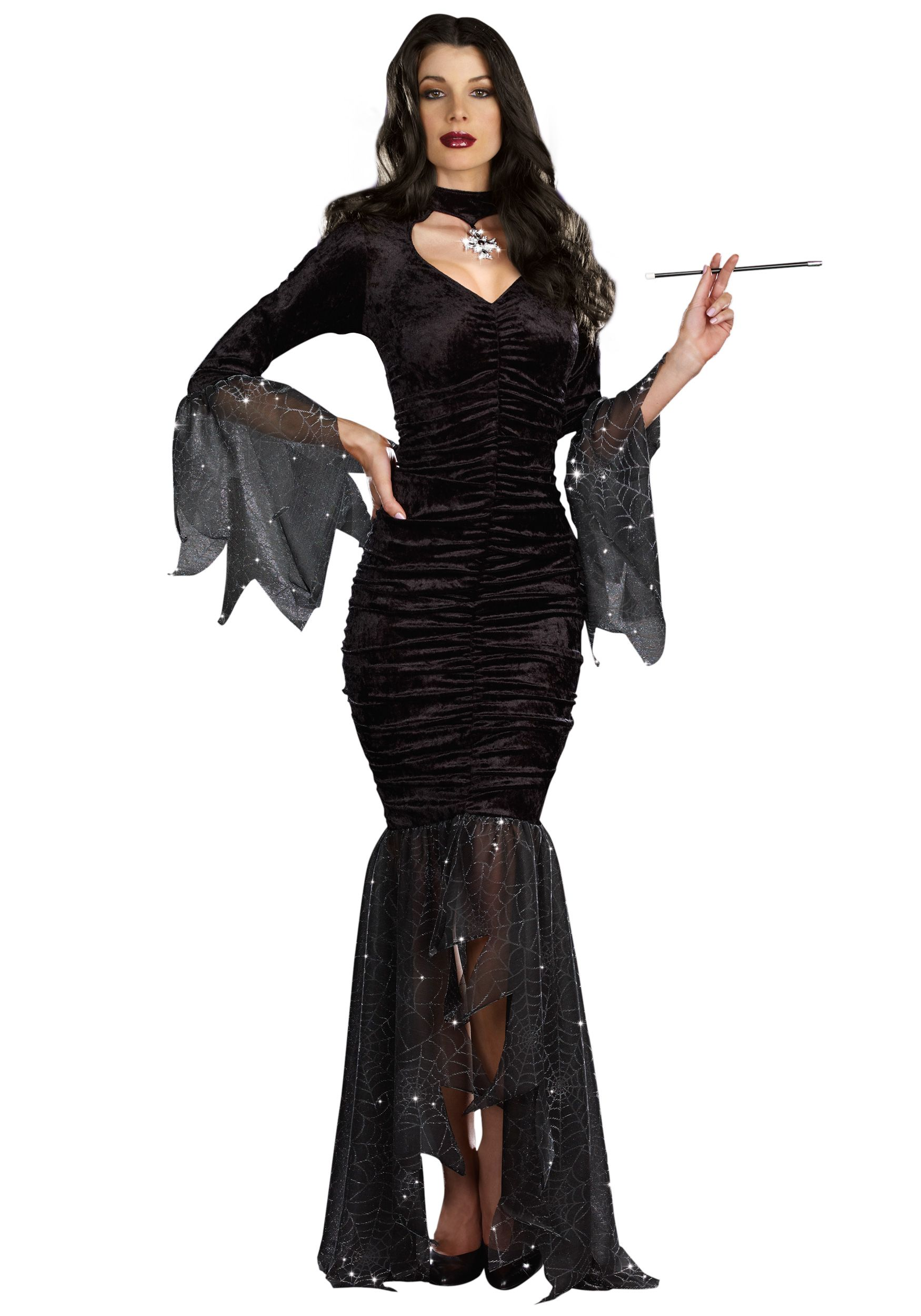 morticia adams costume | Home GROUPS ADDAMS FAMILY Adult Morticia ...