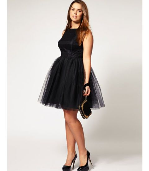 Plus size girls cocktail dresses