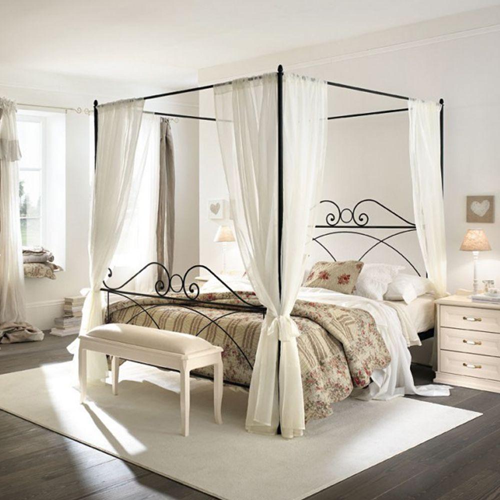 Letto a baldacchino Lucy By Viadurini Collezione Notte #letto ...
