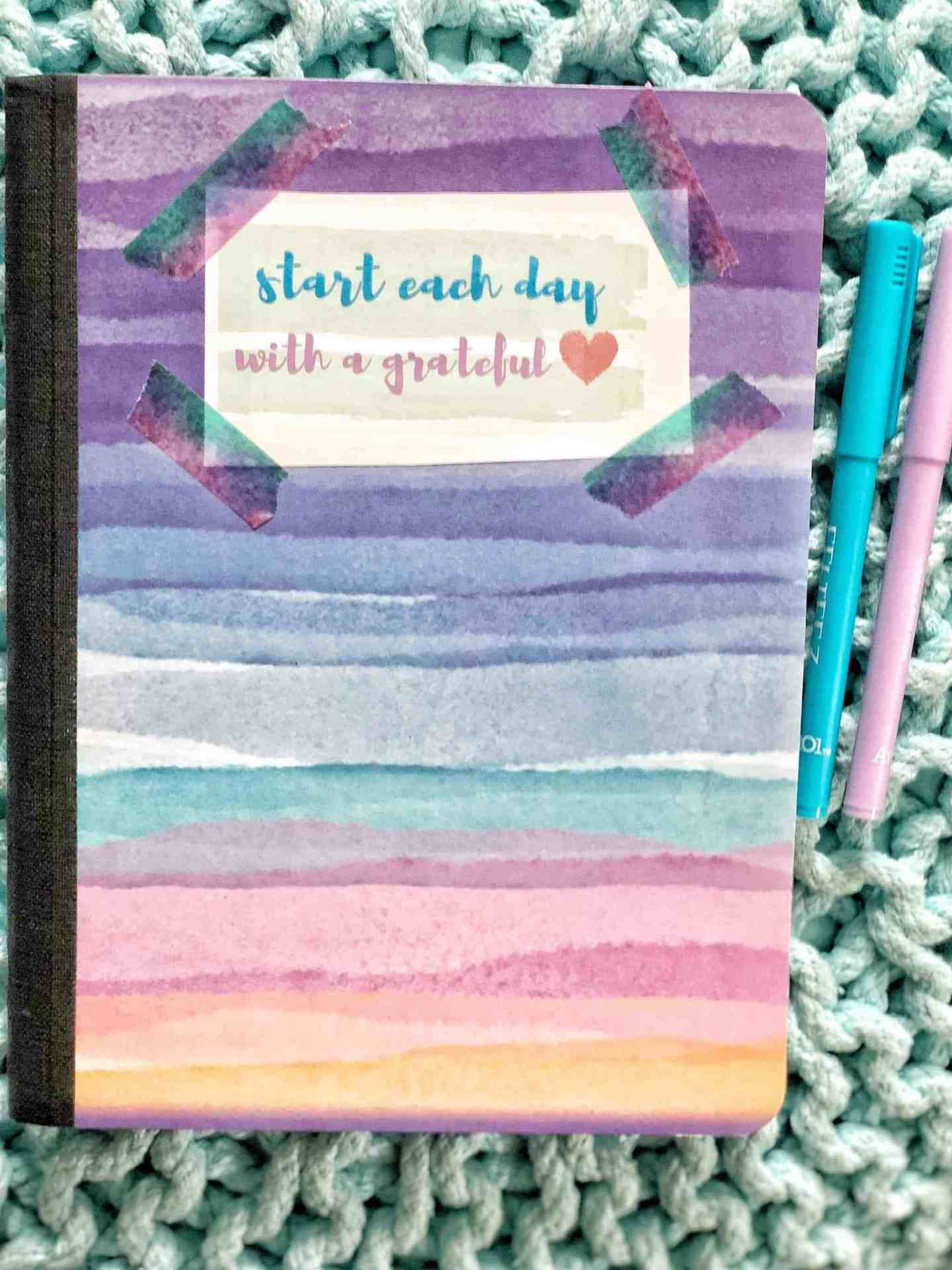 How To Start A Daily Gratitude Journal With Kids