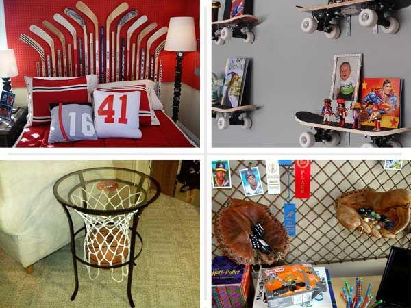 Superior 10 Ways To Upcycle Sports Gear Into Childrenu0027s Furniture