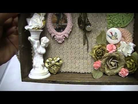 TPBP:  Kelle's Altered Shadow Box Book