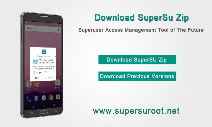 Download #SuperSU root latest zip and apk | SuperSU Root