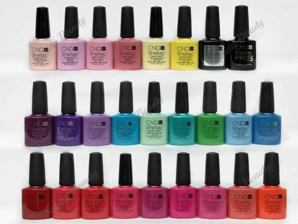 CND Shellac Esmalte de uñas de Gel de Larga duración Soak-off de UV ...