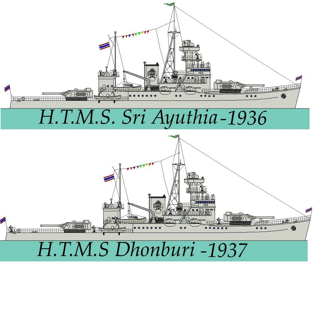 Thonburiclass Coastal Defence Ship