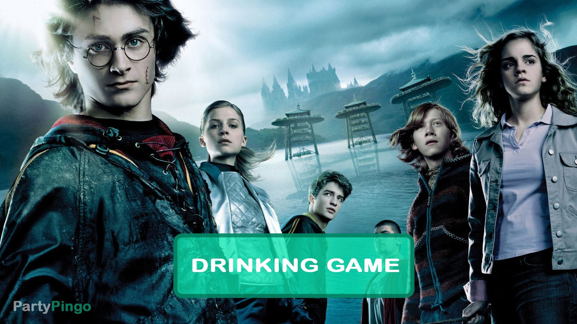 Harry Potter And The Goblet Of Fire Drinking Game Harry Potter Drinking Game Goblet Of Fire Drinking Games