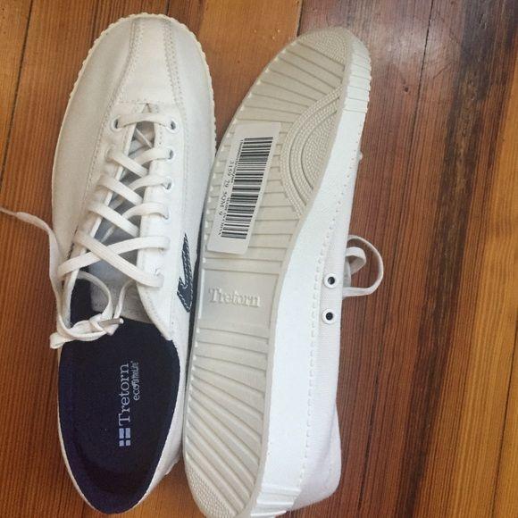 Tretorn eco ortholite canvas sneakers