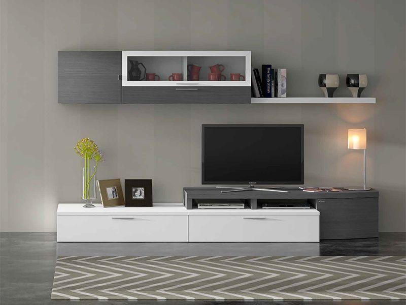Mueble sala vento 702 781 salas pinterest tv units for Modulos para comedor