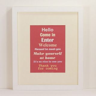 hellow. come in. enter. welcome. free printable wall art.