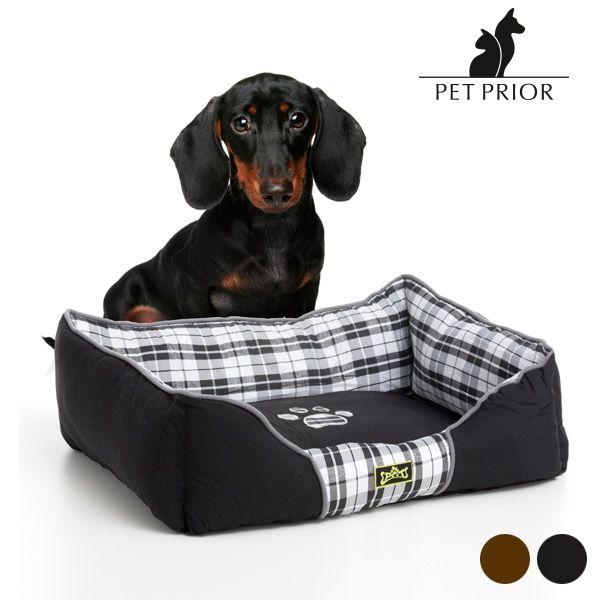 28,00€ · cama para perros Luxe Pet Prior (65 x 50 cm) · ¿Todavía no tienes la cama para perros Luxe Pet Prior (65 x 50 cm)? Tus mascotas dormirán profundamente en este colchón y, además, quedará genial con la decoración de tu hogar.  100 % poliéster Lavar a mano Medidas aprox.: 65 x 17 x 50 cm · Mascotas y animales > Accesorios de animales > Accesorios y productos de perros
