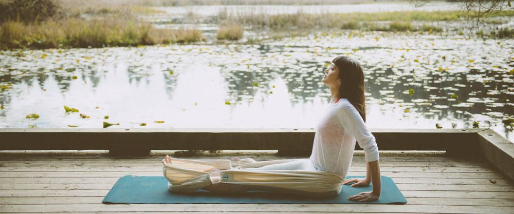 Use Earth to Ether's Lotus Wrap while stretching through the back of the legs in yin postures  ... www.earthtoethers.com