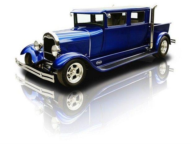 1929 Ford 29a Crew Cab Pickup Lt1 4l60e Car Pictures Classic Cars Trucks Futuristic Cars Classic Trucks