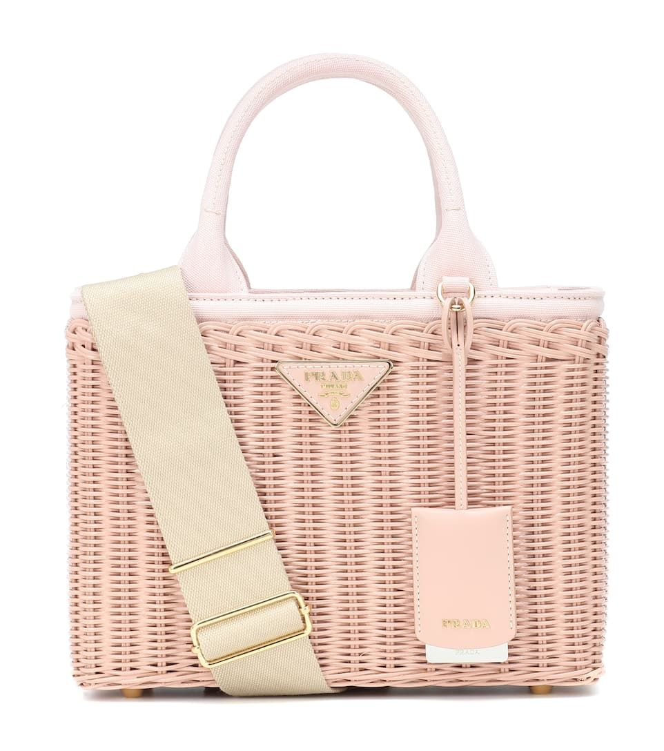 beau grandes marques plus grand choix de 2019 Bamboo basket bag | Bags in 2019 | Prada, Prada handbags ...