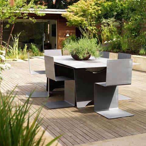 Ideas para un patio de diseño en casa En casa, Patios y Grandes - mesas de diseo