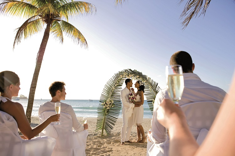 Weddings at Riu Palace Tropical Bay Destination wedding