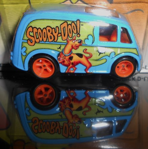 HOT WHEELS HANNA BARBERA SCOOBY-DOO QUICK D-LIVERY REAL/RIDERS