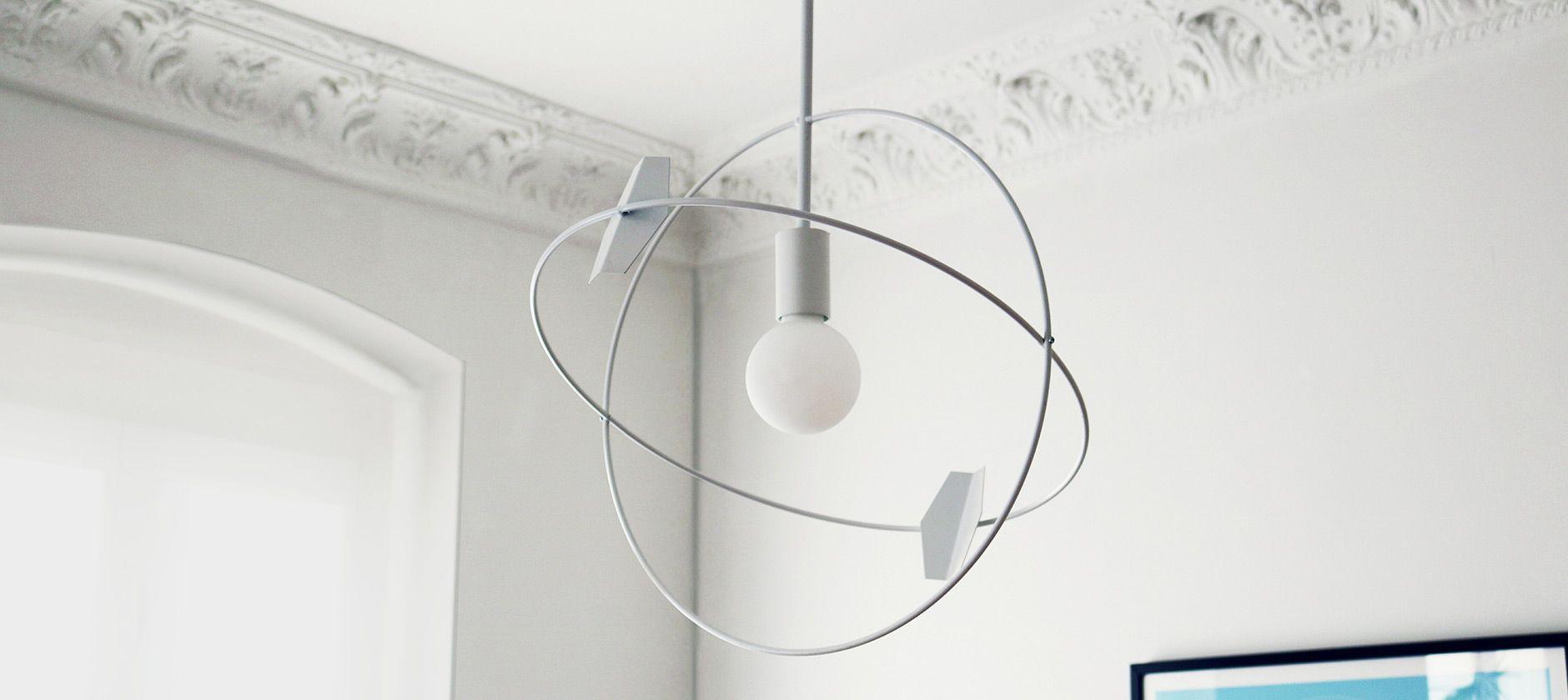 Reduziertes Lichtdesign