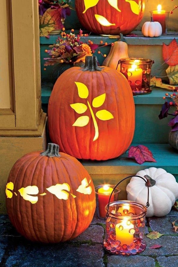 Pin by Magda Wolniak on AUTUMN Pinterest Autumn - how to make pumpkin decorations for halloween