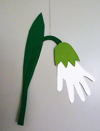 Easter Craft Snow Drop Clipartqueen S Blog Spring Crafts For Kids Paper Crafts For Kids Spring Crafts