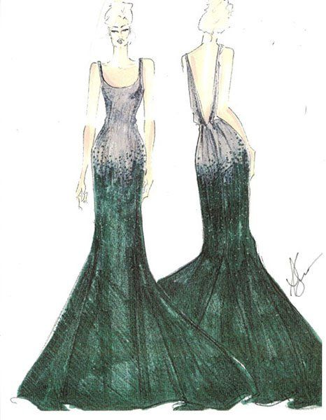 Sneak Peek: Advance Sketches and Inspiration From Our Favorite Designers | Photo Gallery - Yahoo! Shine