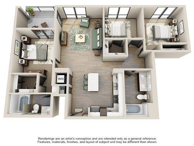 Ava Little Tokyo Rentals Los Angeles Ca Apartments Com Floor Plan Design Floor Plans House Styles