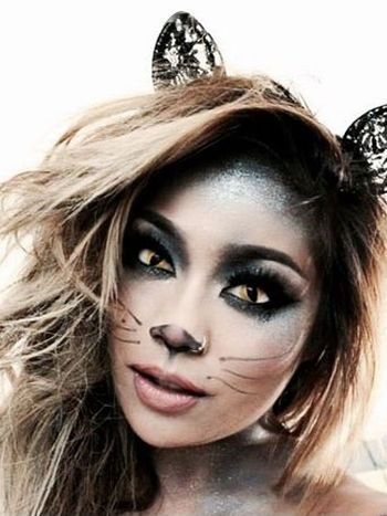 purrfect simple cat makeup ideas for halloween  cat